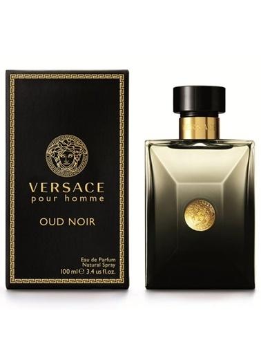 Versace  Oud Noir Edp 100Ml Erkek Parfüm Renksiz